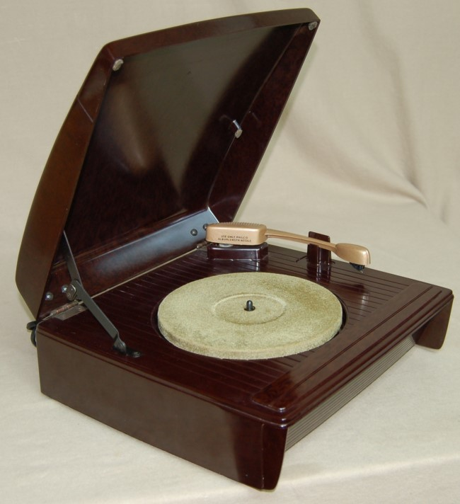 Radiolaguy Com Philco M 15 Record Player