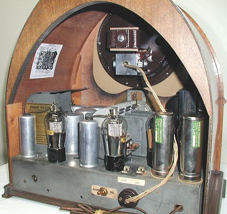 Radiolaguy Com Philco Model 90 Cathedral Radio
