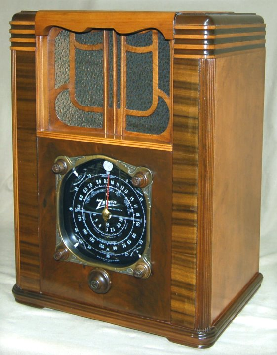 RadiolaGuy.com : Zenith radio model 8S129 : 8-S-129 Zenith