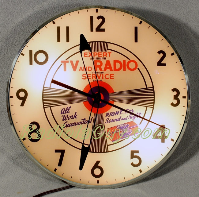 RadiolaGuy.com : Clock Faces : Vintage Advertising Clocks ...