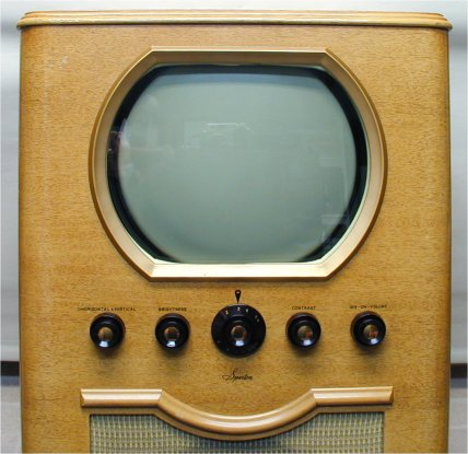 Round screen vintage televisions with you