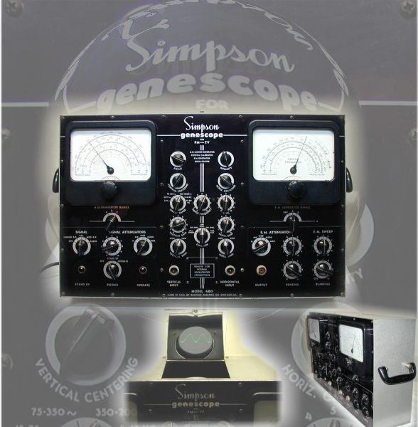 Radiolaguy Com Vintage Test Equipment For Sale Amp Reference